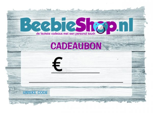 Cadeaubon Beebieshop