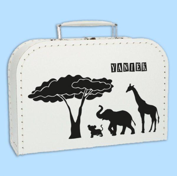 Kinderkoffertje Africa met naam