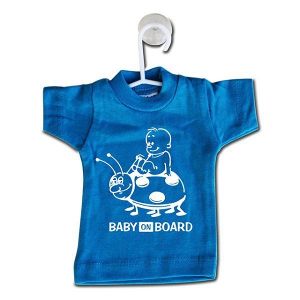 Minishirt baby on board
