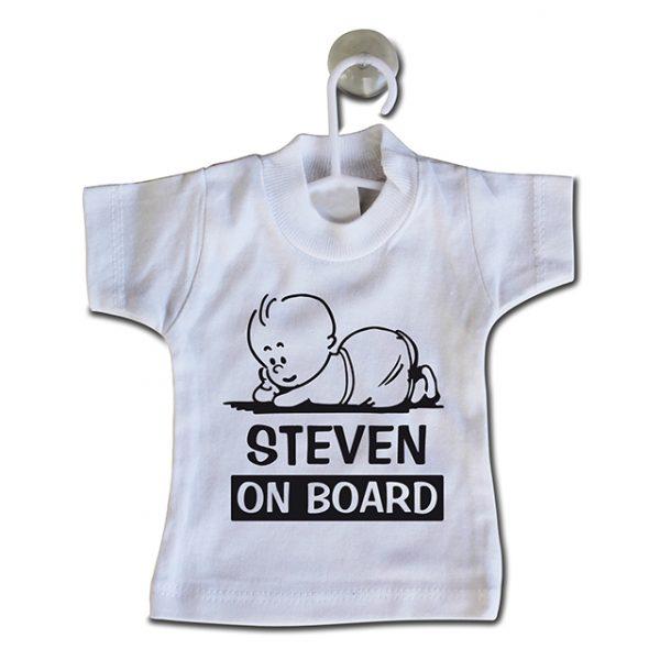 Mini naamshirt On board
