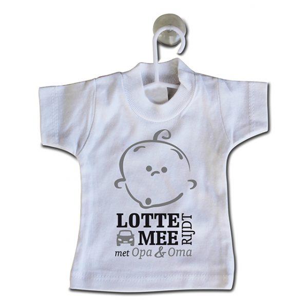 Mini naamshirt