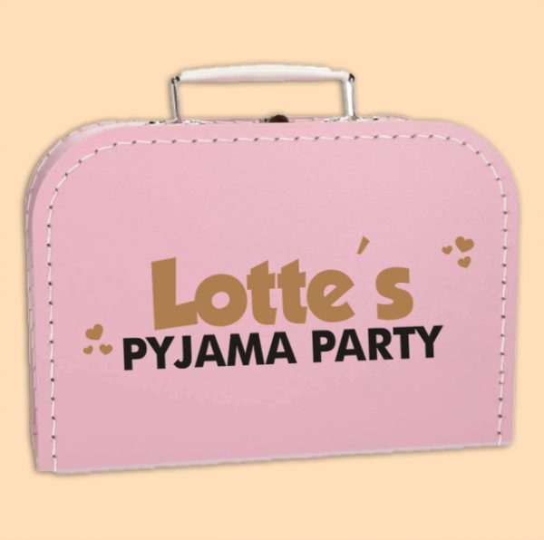 Kinderkoffertje Pyjama Party