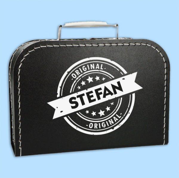 Kinderkoffertje Stempel met naam