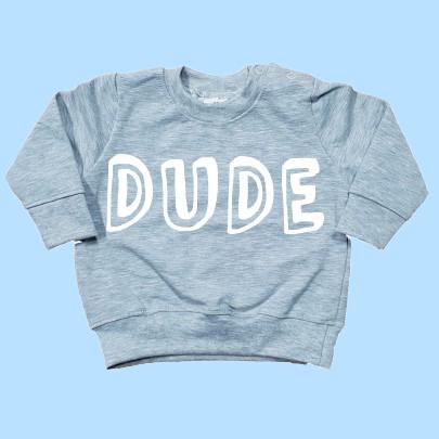 Sweater grijs DUDE