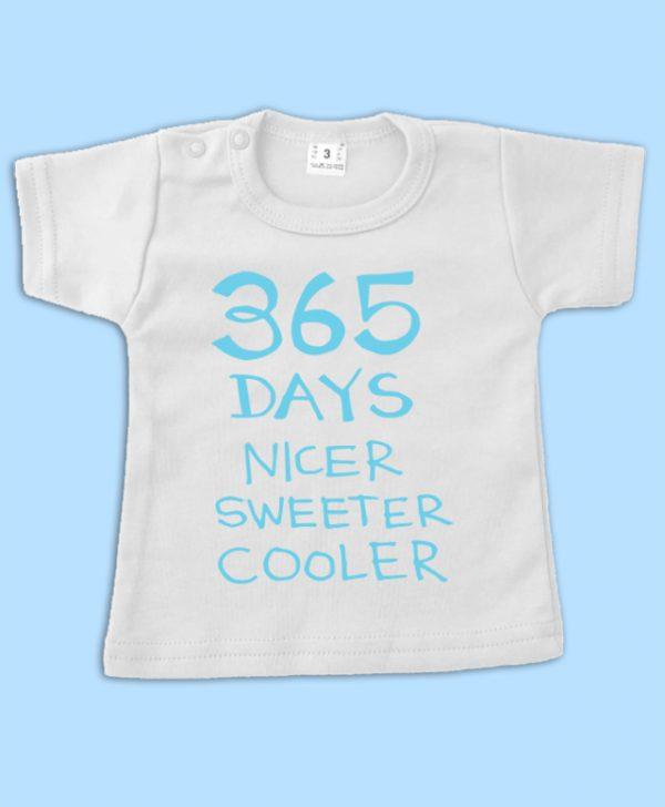 Verjaardagsshirt 365 days