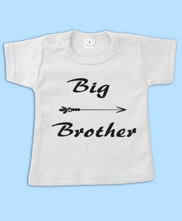 T-shirt Wit Big Brother