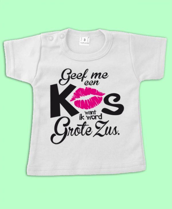 T shirt Ik wordt grote Zus