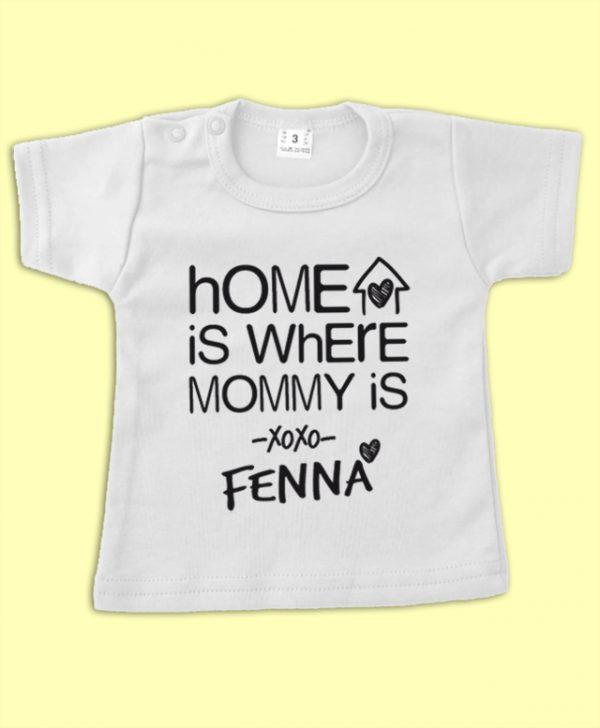 Shirt Home is... met naam