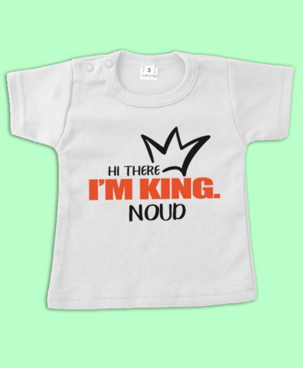 Shirt I am King met naam