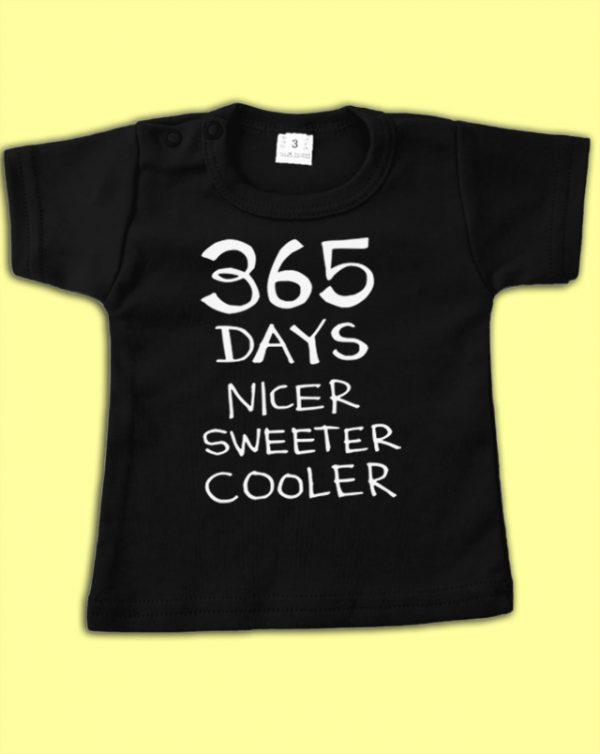 Zwart shirt 365 days