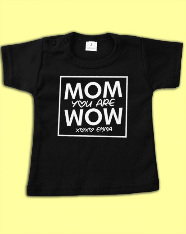 Shirt voor mama met naam